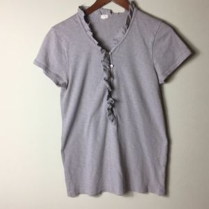 J. Crew 100% Cotton Short Sleeve T-Shirt